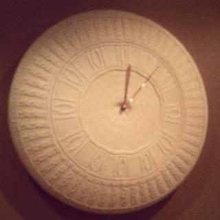 Stickad klocka