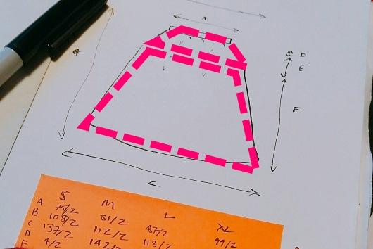 Ska du räkna ut garnåtgången? Då behöver du räkna ut arean på det du ska sticka eller virka.