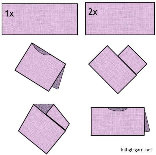 Sticka eller virka en poncho av en fyrkant eller två!