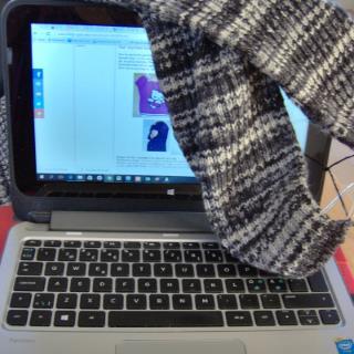 Stickbloggar och virkbloggar