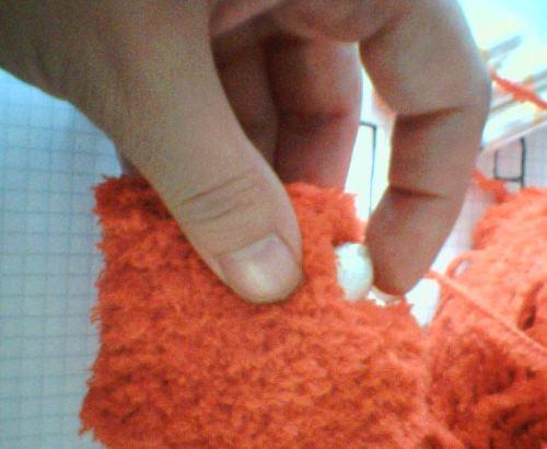 Tada! Färdigvirkat tampongfodral för fem stycken tamponger. Buslätt att virka - och att göra ett eget mönster.