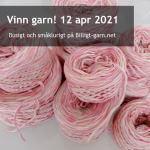 Vinn återvunnet bomullsgarn i tuttifrutti-färger i apriltävlingen 2021!