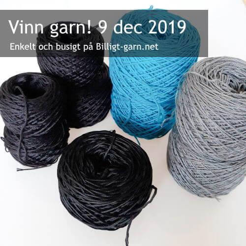Vinn blandade bomullsgarn i decembertävlingen 2019!