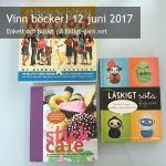 Vinn stick- och virkböcker i juni 2017