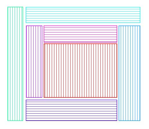 Om du stickar eller virkar i blockhusteknik kan din filt bli hur stor och snygg som helst.