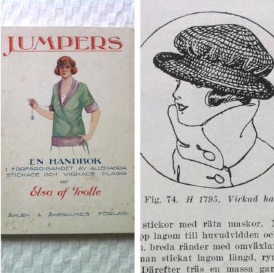 Virka en hatt från 1920-talet.