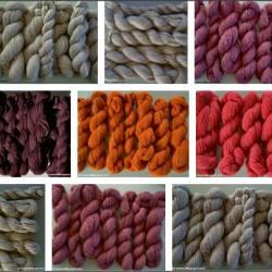 Hur många nystan behöver du till en tröja? Lär dig att räkna ut garnåtgången för återvunna garn.