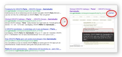 Hitta gratis beskrivningar till stickning och virkning i internets arkiv