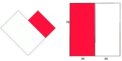 Gratis mönster poncho - diagram
