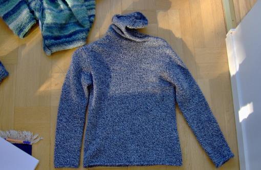 Vilka tröjor passar att repa upp för att återvinna garnet?