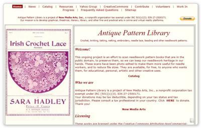 AntiquePatternLibrary.org