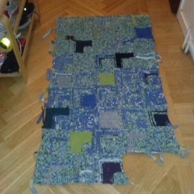 Hur vet du att mattan är tillräckligt stor? Du testar den förstås på plats!