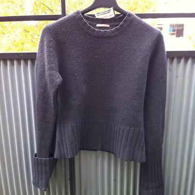 Färgen! Garnmängden! Priset! Ursprungligen var garnet en tröja av märket DoRose.